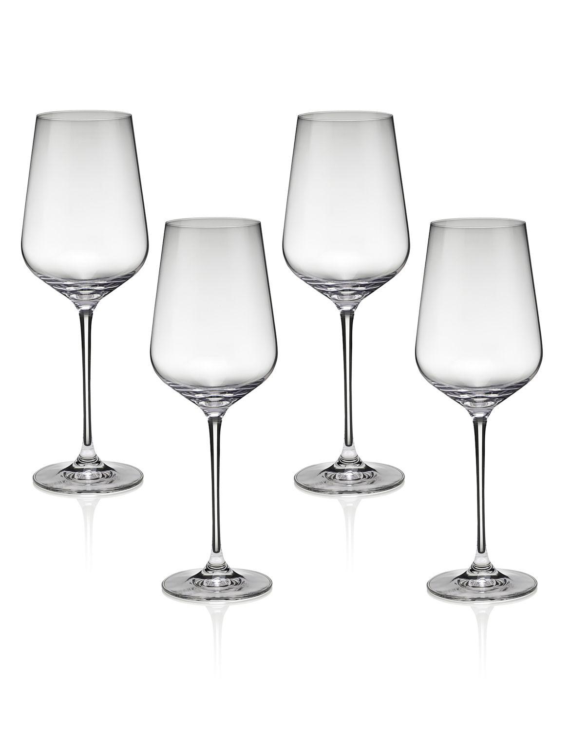 Nova– 4verres ? vin rouge. Hauteur: 26,5cm;Contenance: 54cl;Des grands verres modernes, pour un sens de la mode aigu;De grande taille ma