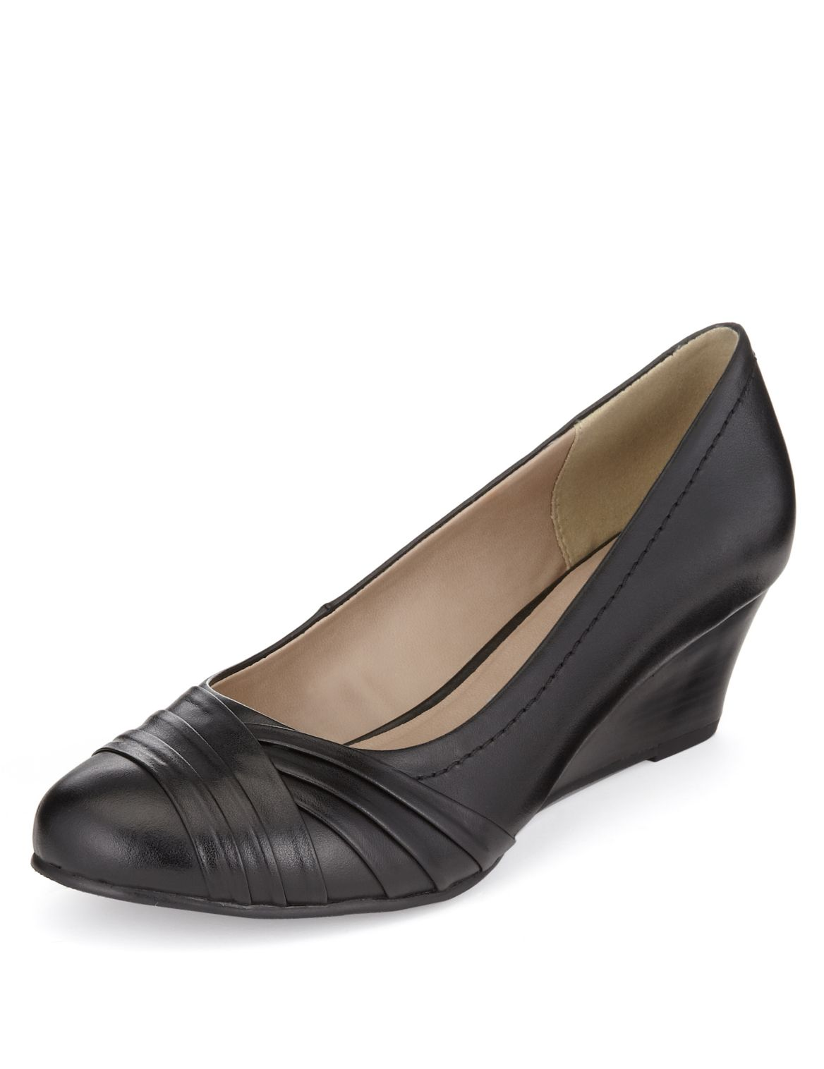 Zapatos Tacon Medio Mujer