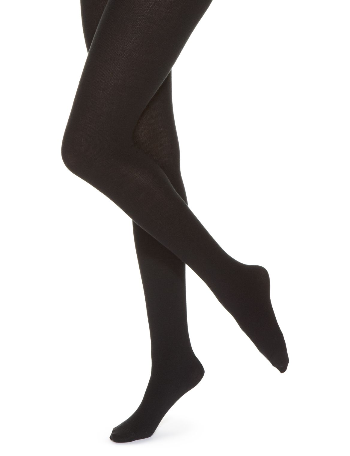 100 Denier Heavyweight Supersoft Opaque Tights black