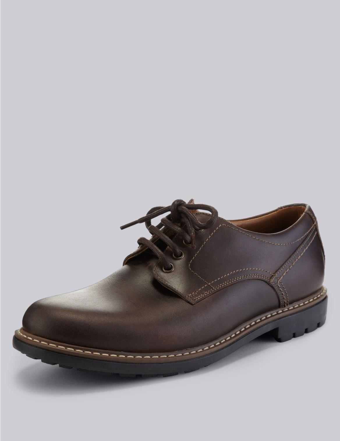 Chaussures en cuir ? lacets. StyleForme du produit:?€ lacets;Coupe:Coupe standard;Fermeture:?€ lacets;Bout rond;D??tail couture et empi?¨cem