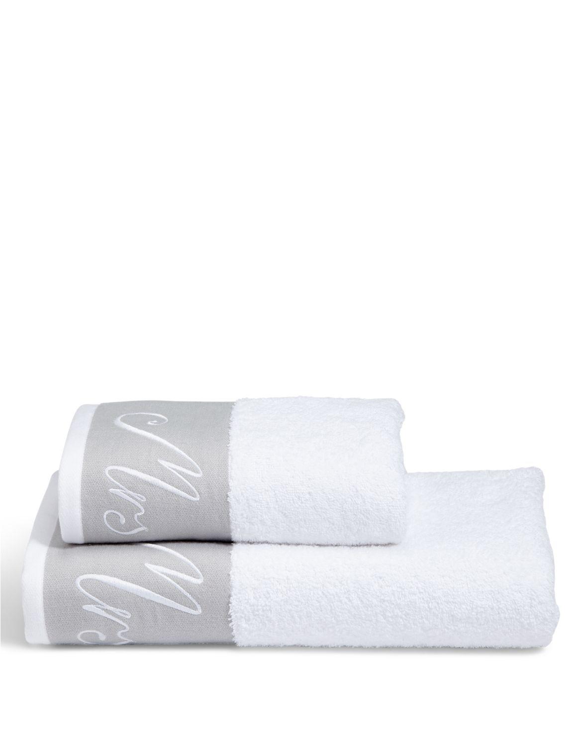 Marks and Spencer - Serviette avec texte «mrs» brodé