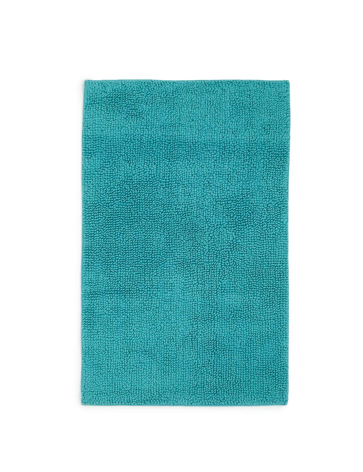 Marks and Spencer - Tapis de bain et contour lavabo/wc en coton doux à pompons