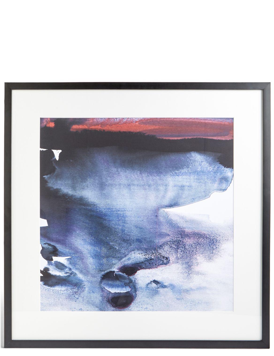 D??coration murale cr??puscule par Amy Sia. DimensionsHauteur:75 cm;Largeur:75 cm;Profondeur:2.5 cm;Fiche produitN??e en Australie Amy Sia est une art
