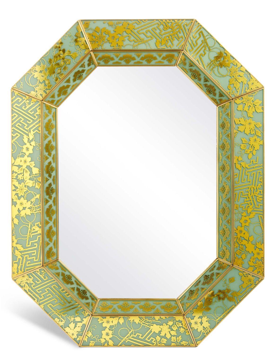 Dorset– Miroir mural. DimensionsHauteur:77.5 cm;Largeur:60 cm;Profondeur:2 cm;Fiche produitPeut ??tre suspendu en mode portrait ou paysage;Ne pa