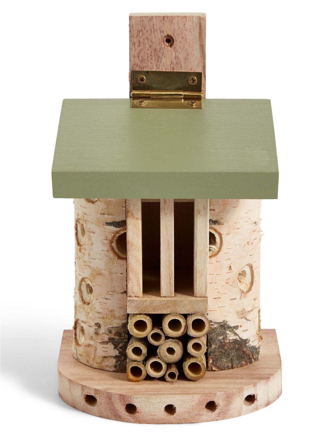 Maison ? insectes. DimensionsHauteur:23.8 cm;Largeur:14 cm;Profondeur:12.8 cm
