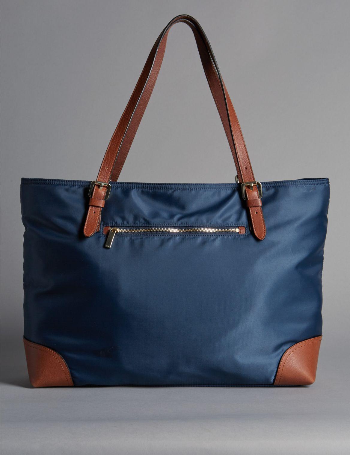Grand sac fourre-tout à double poignée