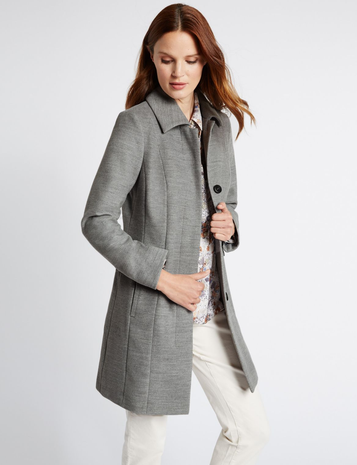 2 Pocket Coat grey