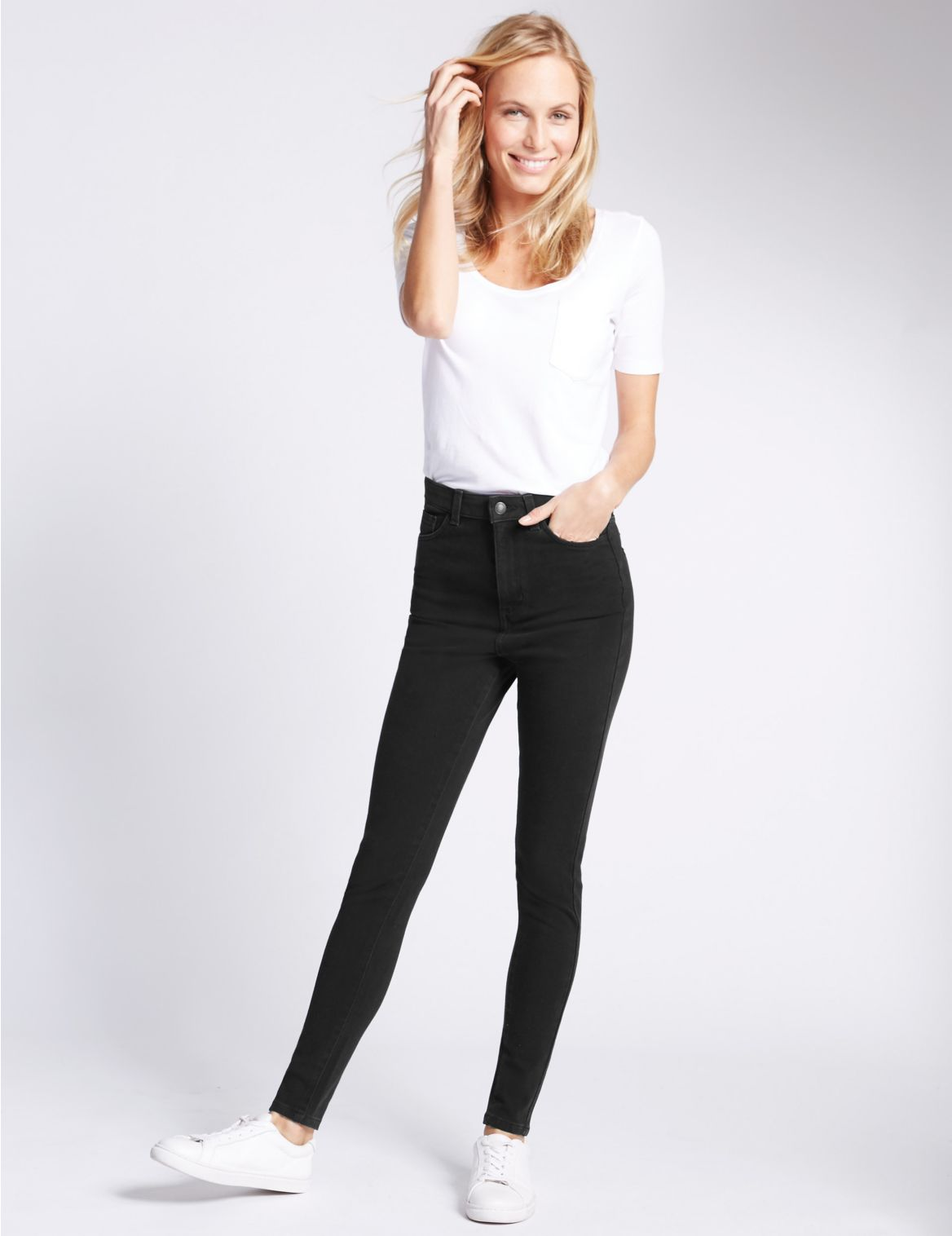 Superskinny jeans met 360 contour