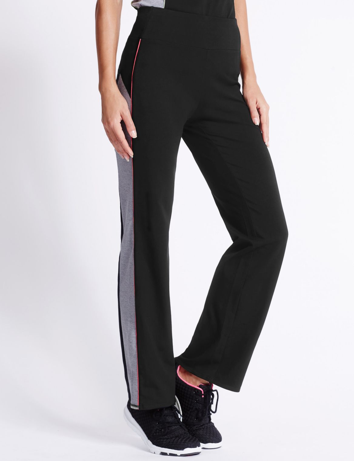 Active Cotton Joggers black mix