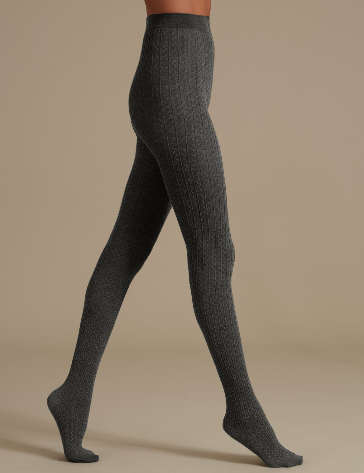 100 Denier Heatgen™ Opaque Tights dark grey