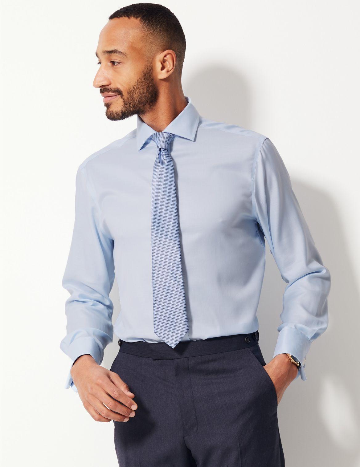 b4b18824a9 Stylabel - Producto  Camisa Ultimate de sarga 100% algodón sin planchado