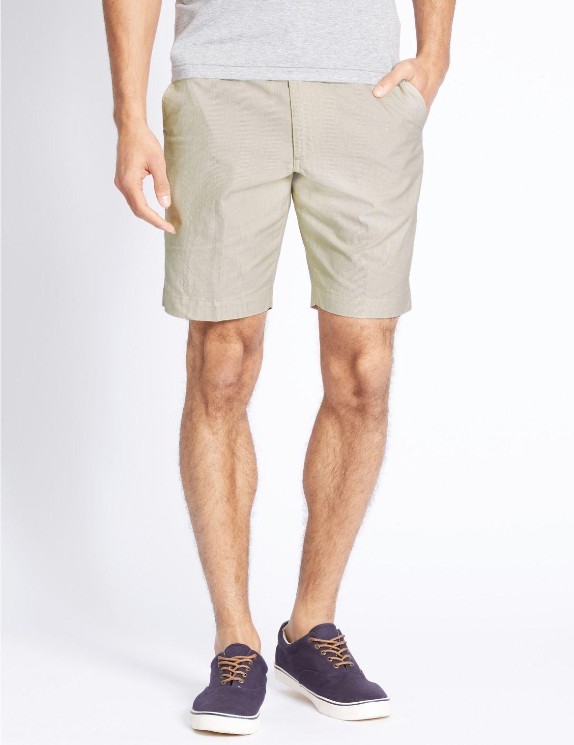 Zuiver katoenen korte broek met