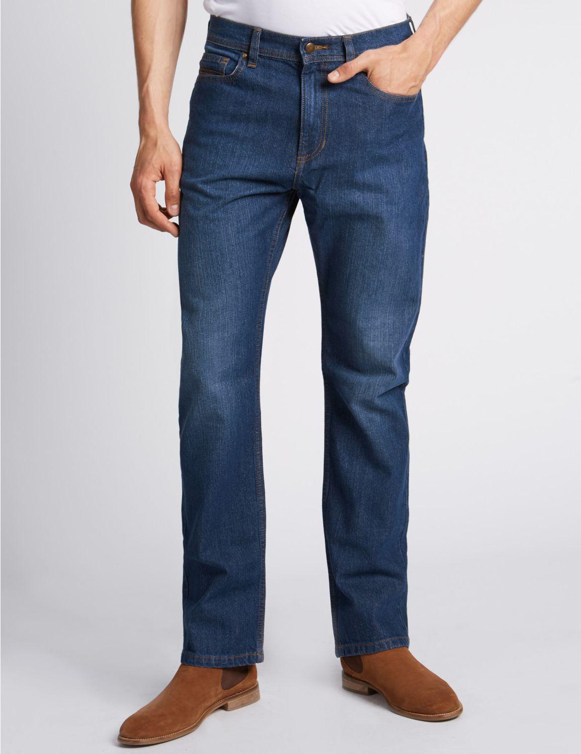 Stretch jeans met normale pasvorm