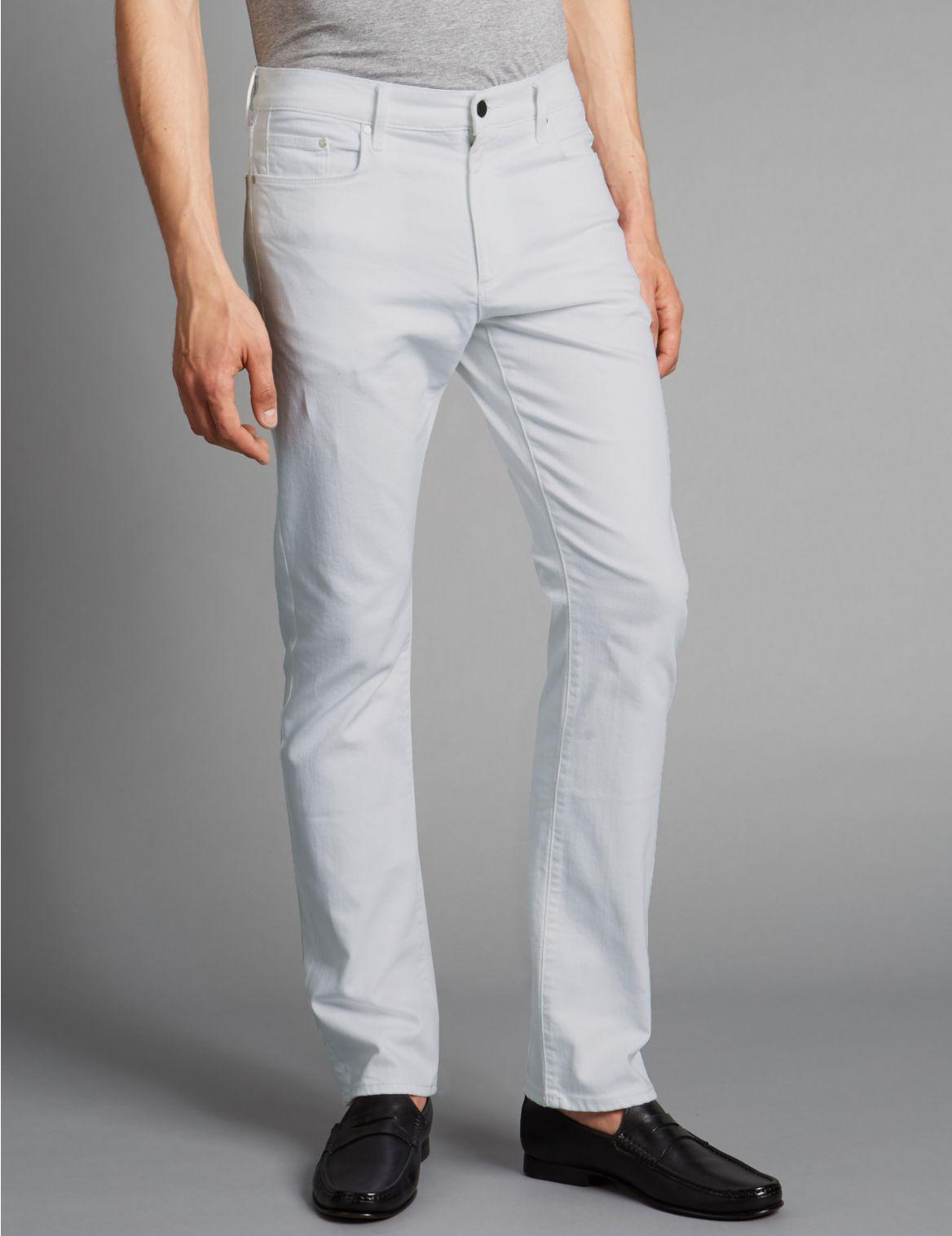 Stretch jeans met rechte pasvorm