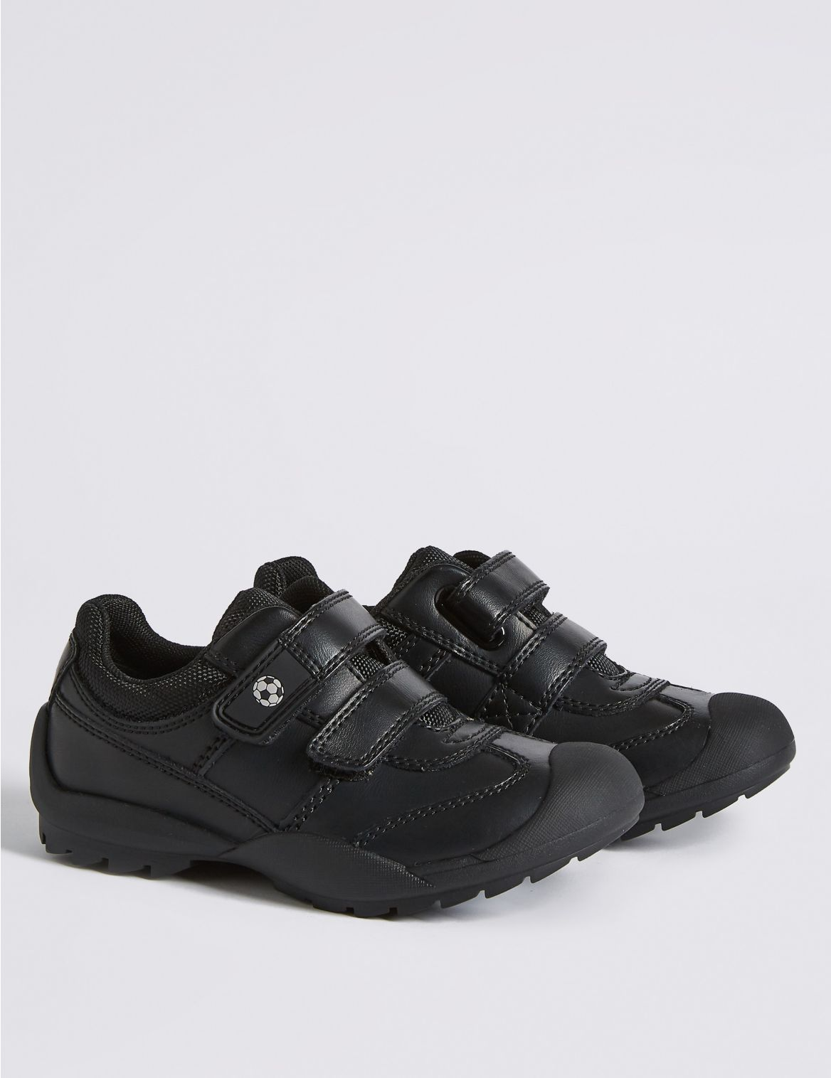 """Chaussures enfants en cuir enduit Freshfeetâ""""? anti-??raflures, id??ales pour l'??cole. StyleForme du produit:Chaussures pour l'??cole;Coupe:Sta"""