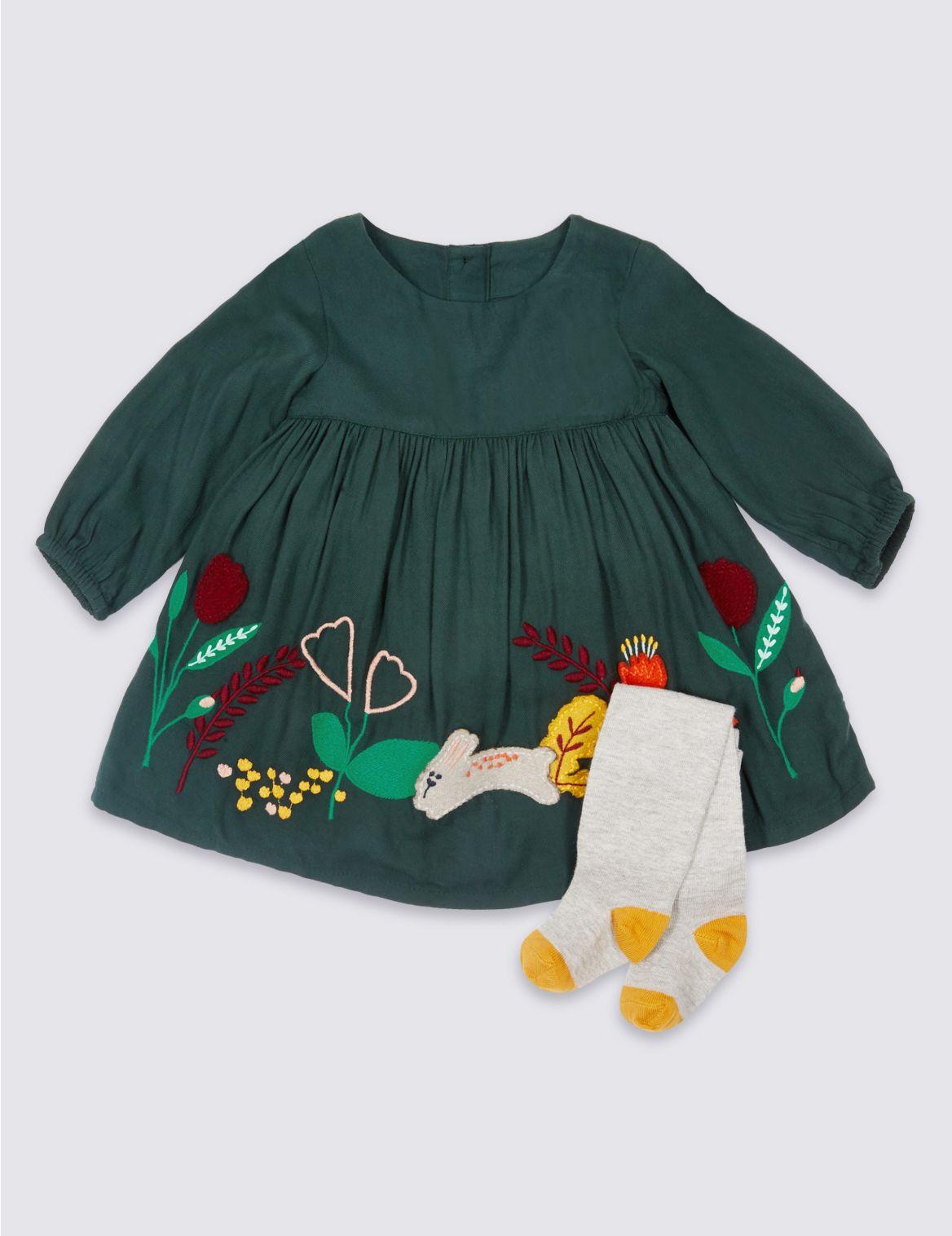 2delige outfit met jurkje met