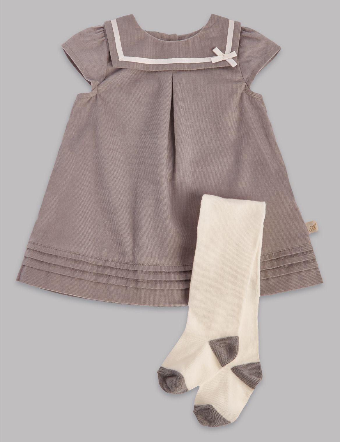 2delige outfit met corduroy