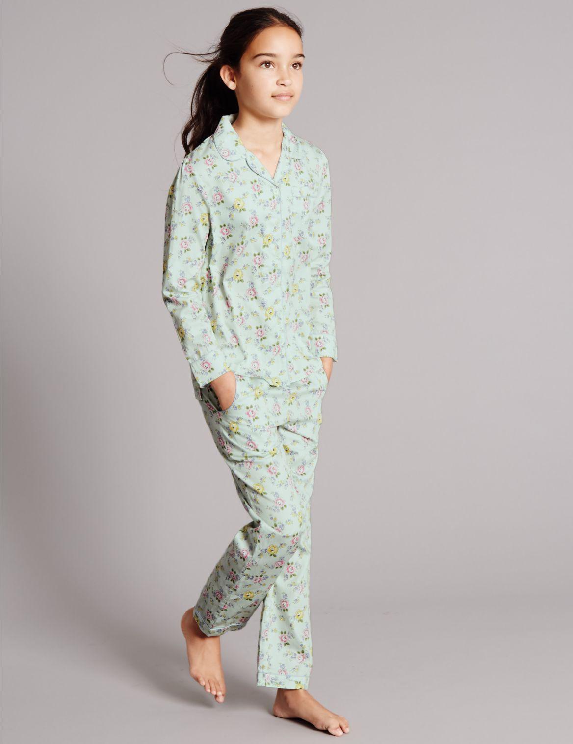 Puur katoenen pyjama met