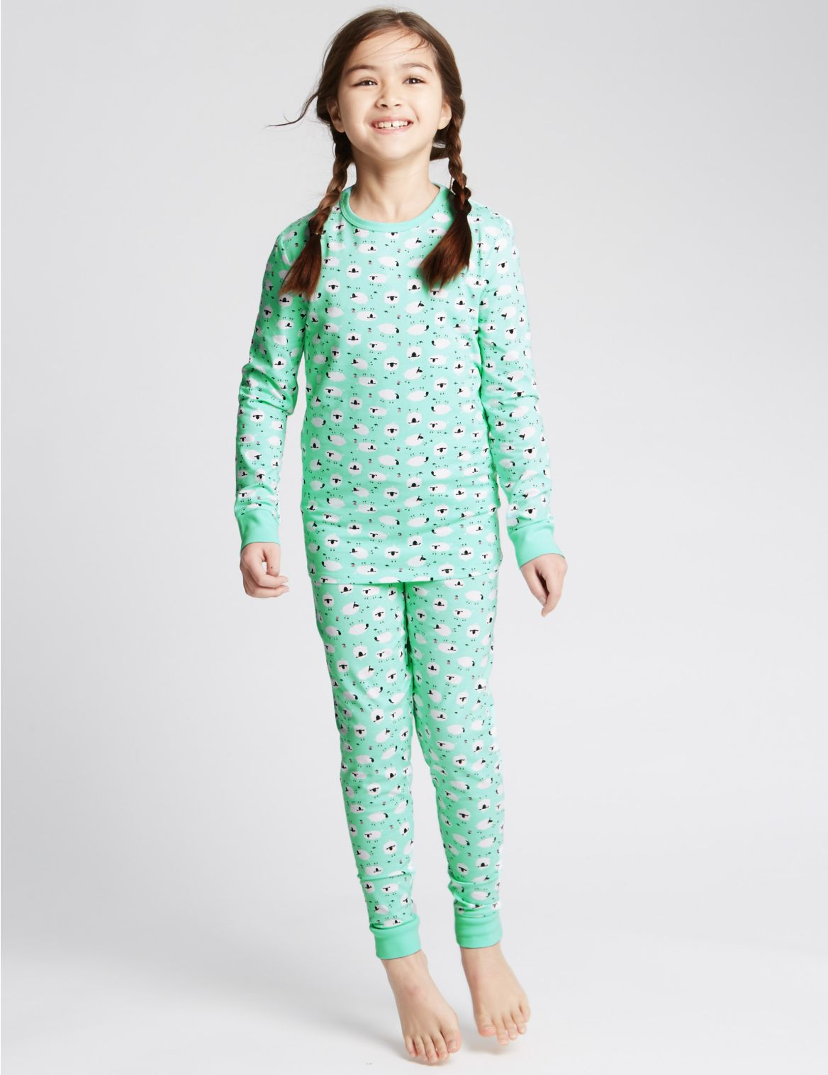 Pyjama met dierenmotief (116 jaar)