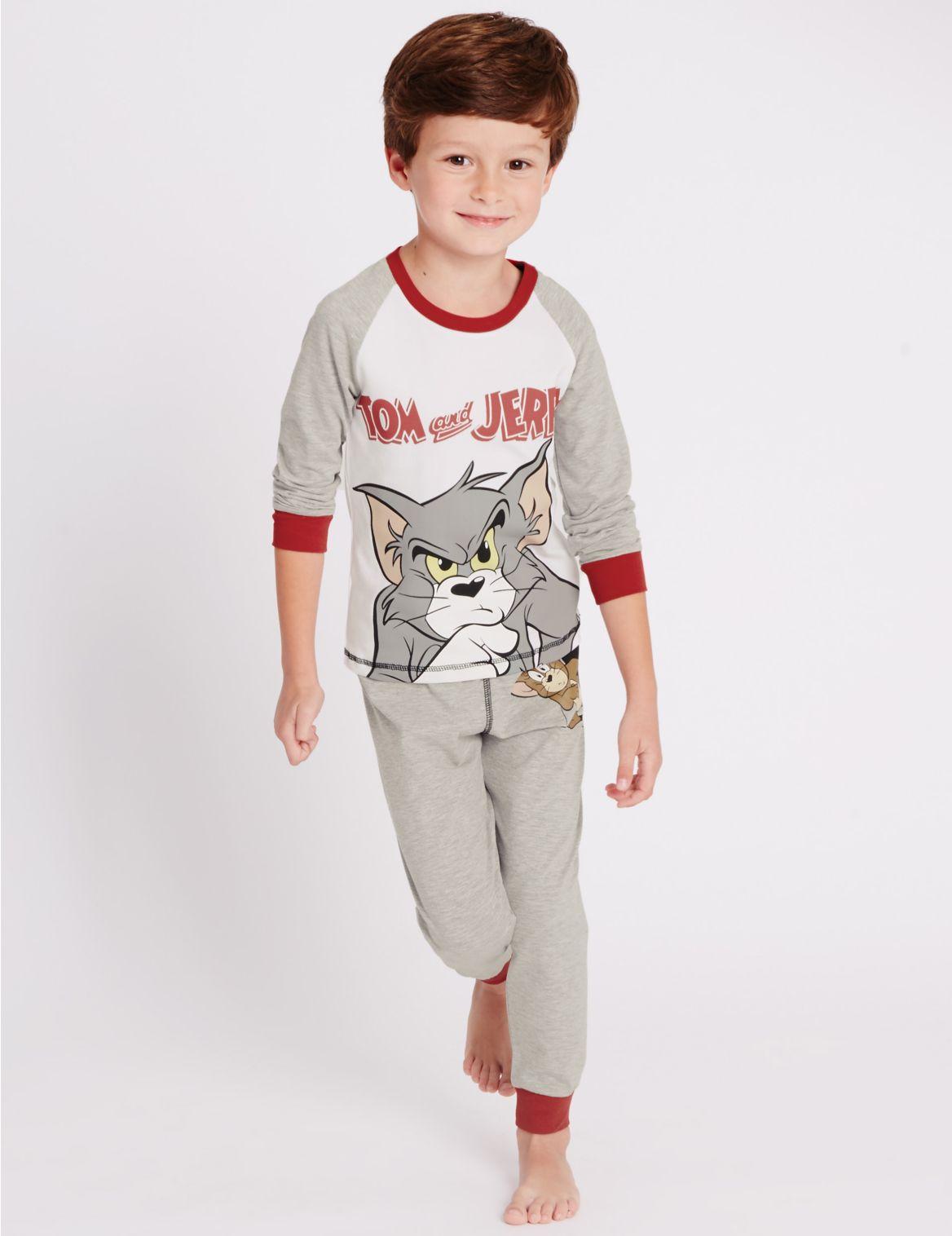 Pyjama met lange mouwen en Tom en
