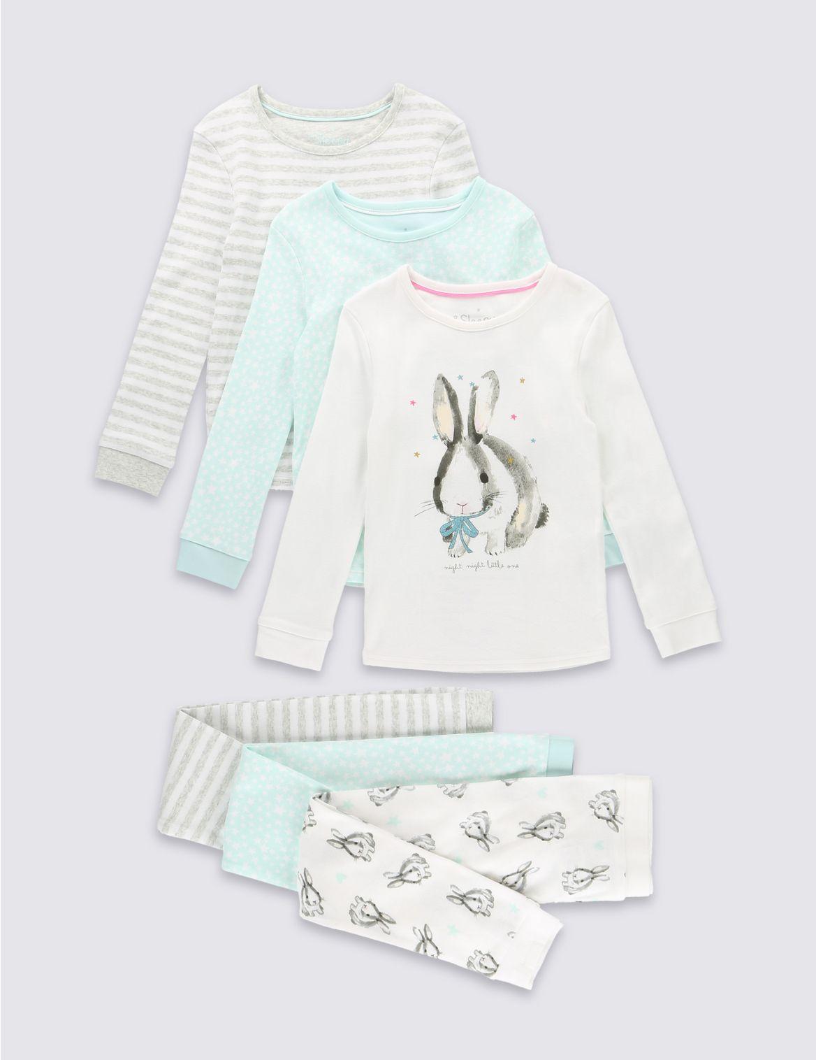 Set van 3 verschillende pyjama s
