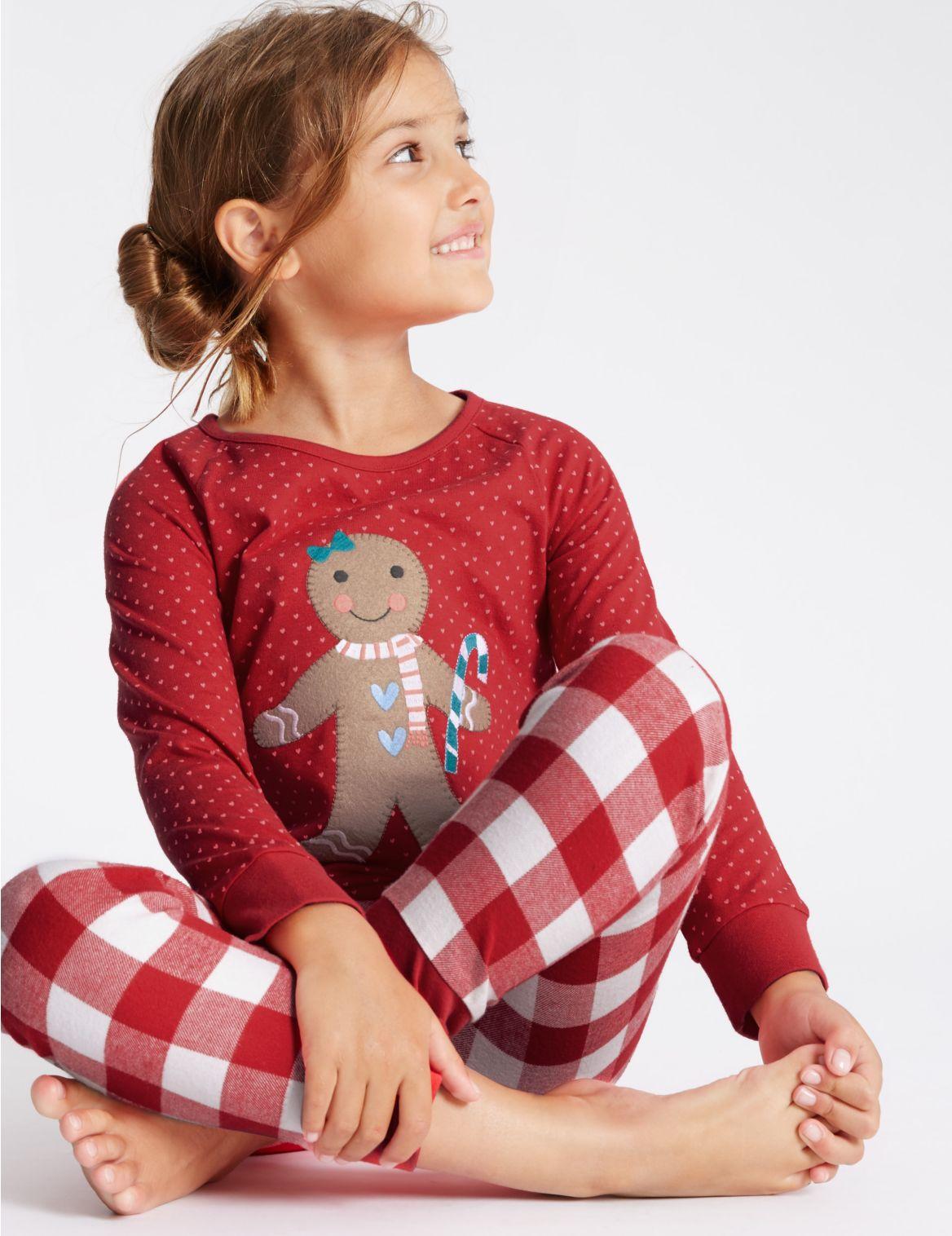 Pyjama van puur katoen met