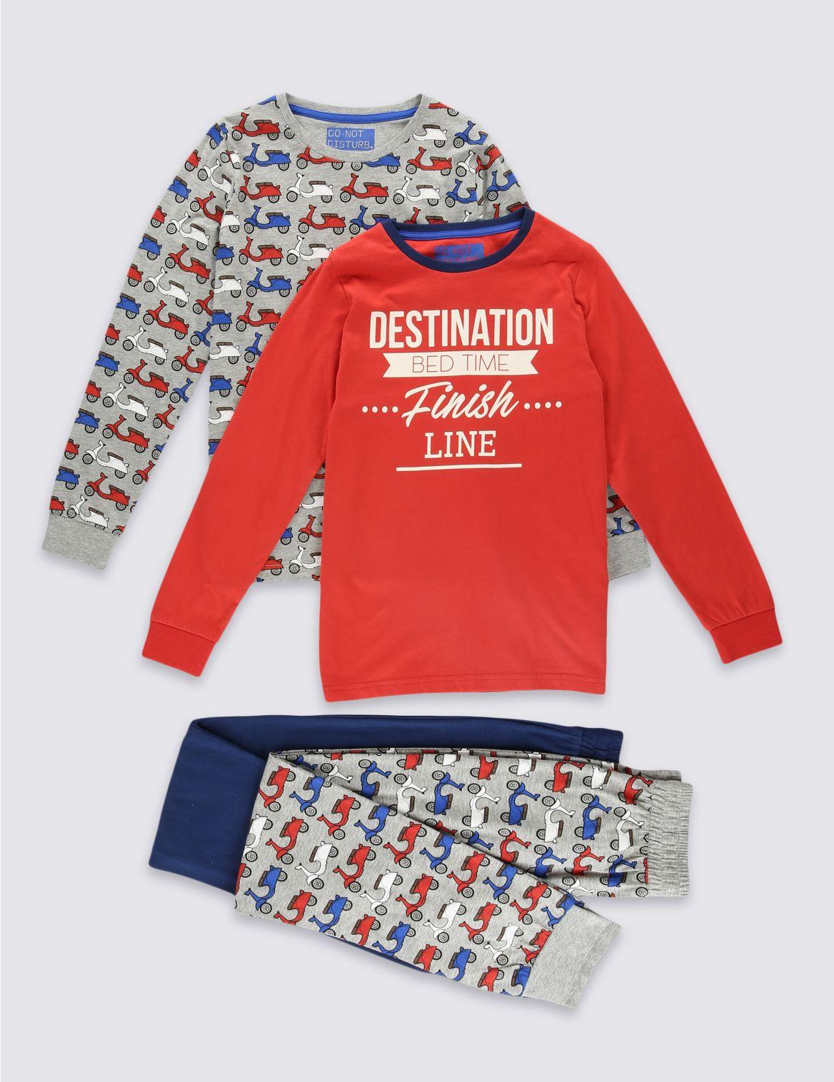 Set van 2 pyjama s met