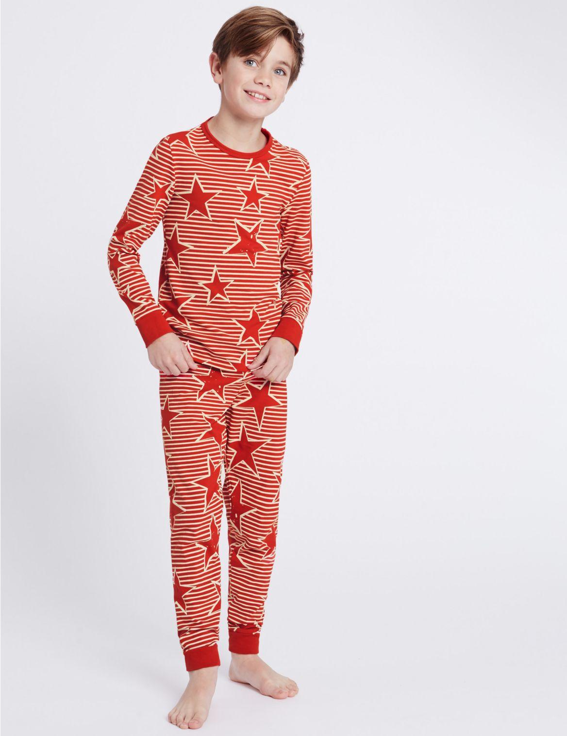 Pyjama met strepen en
