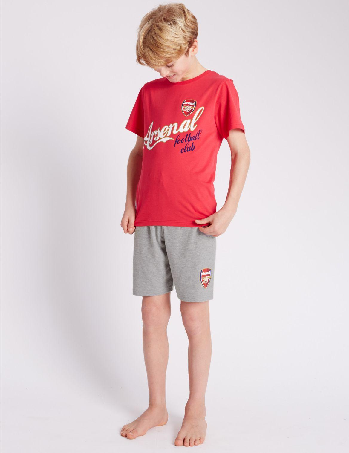Pyjama met korte broek en Arsenal
