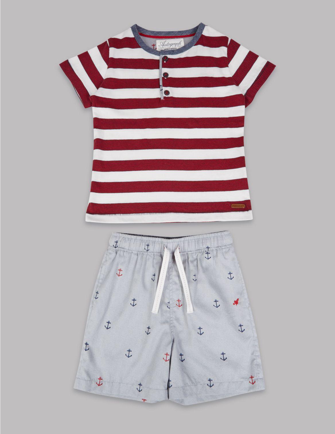 Zuiver katoenen pyjama met