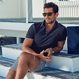 David Gandy's poolside polo