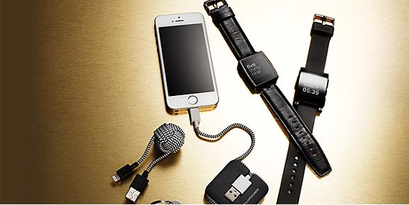 A selection of mens gadgets