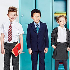 Personalised school uniform