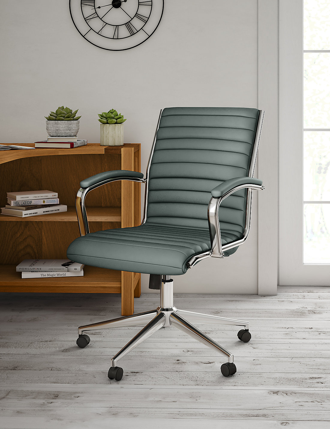 Latimer Office Chair Grey MS - Grey office chair