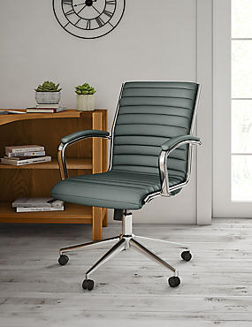 Latimer Office Chair - Grey, , catlanding