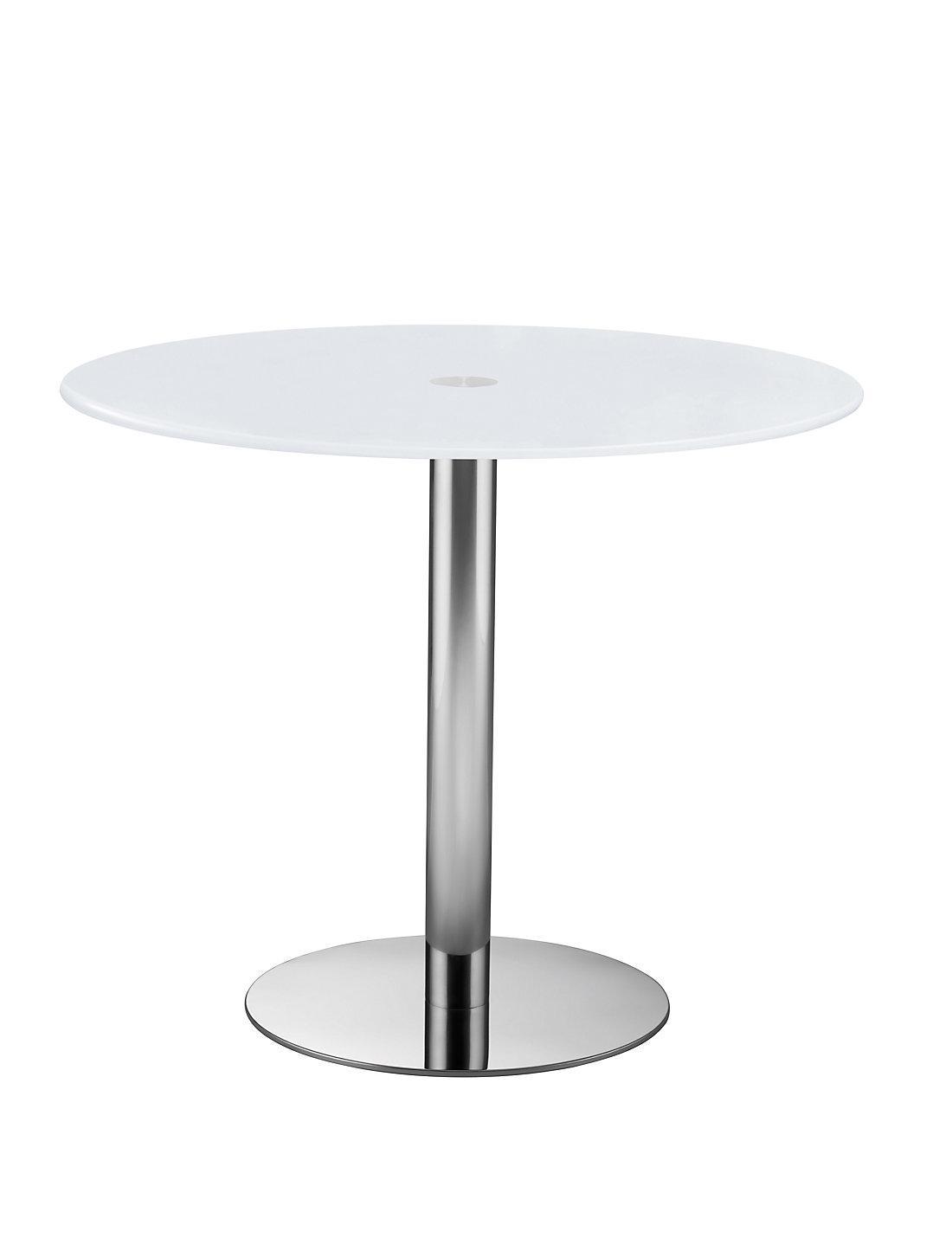 Gino white glass table ms gino white glass table geotapseo Choice Image