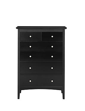 Hastings Dark 4+2-Drawer Chest