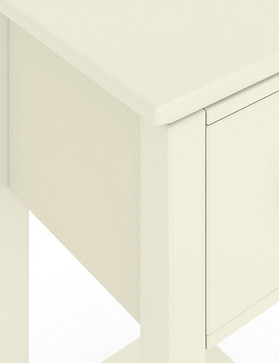 Compact Bedside Tables 2 hastings ivory compact bedside chests | m&s
