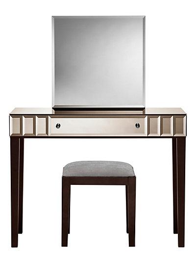 sloane dressing table mirror stool set m s. Black Bedroom Furniture Sets. Home Design Ideas