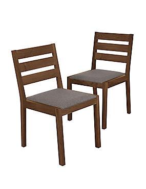 2 Sonoma Dark Dining Chairs, , catlanding