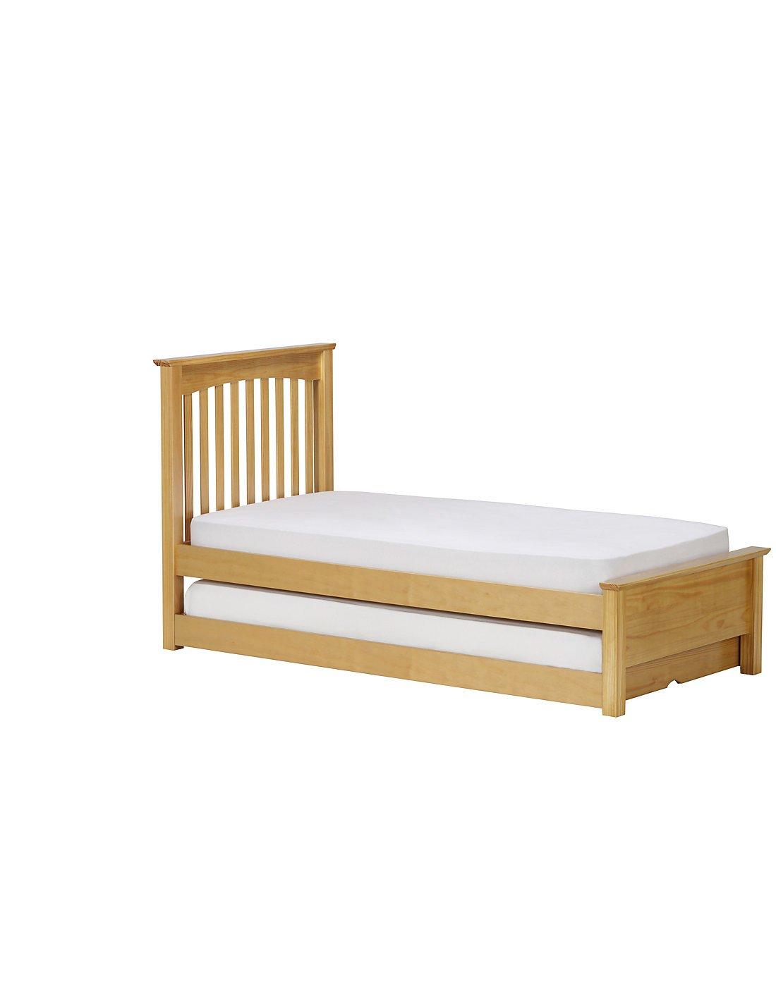 Hideaway Guest Bed Hastings Natural Pine Childrens Guest Bed Ms