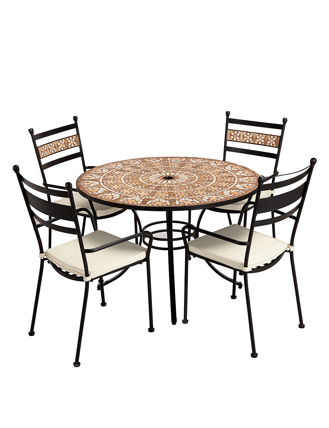 Petra round table 4 chairs ms petra round table 4 chairs geotapseo Choice Image