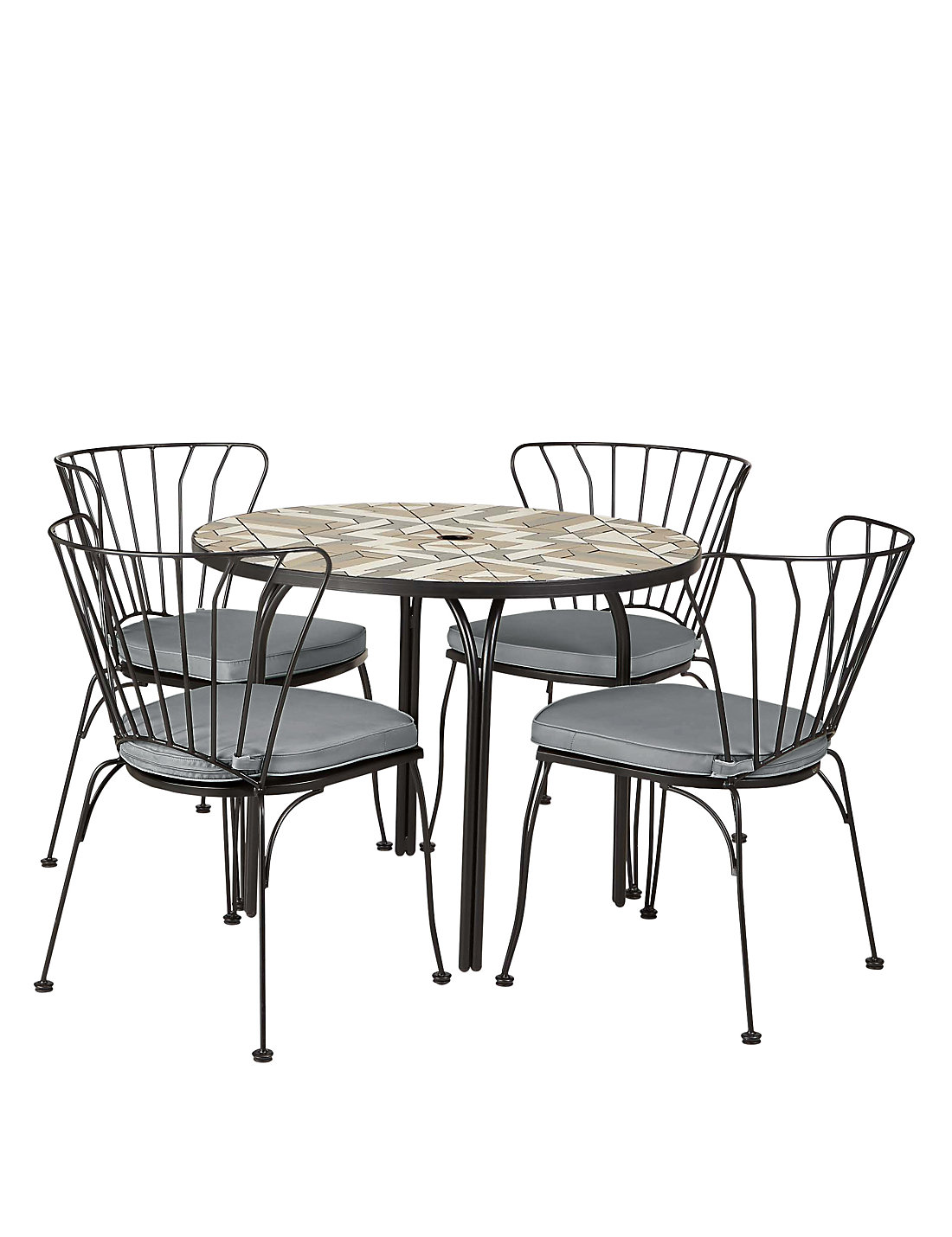 Geo Mosaic Table   4 Chairs. Garden Furniture   Outdoor Dining Sets and Sofas   M S