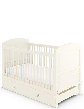 Hastings Ivory Cot Bed