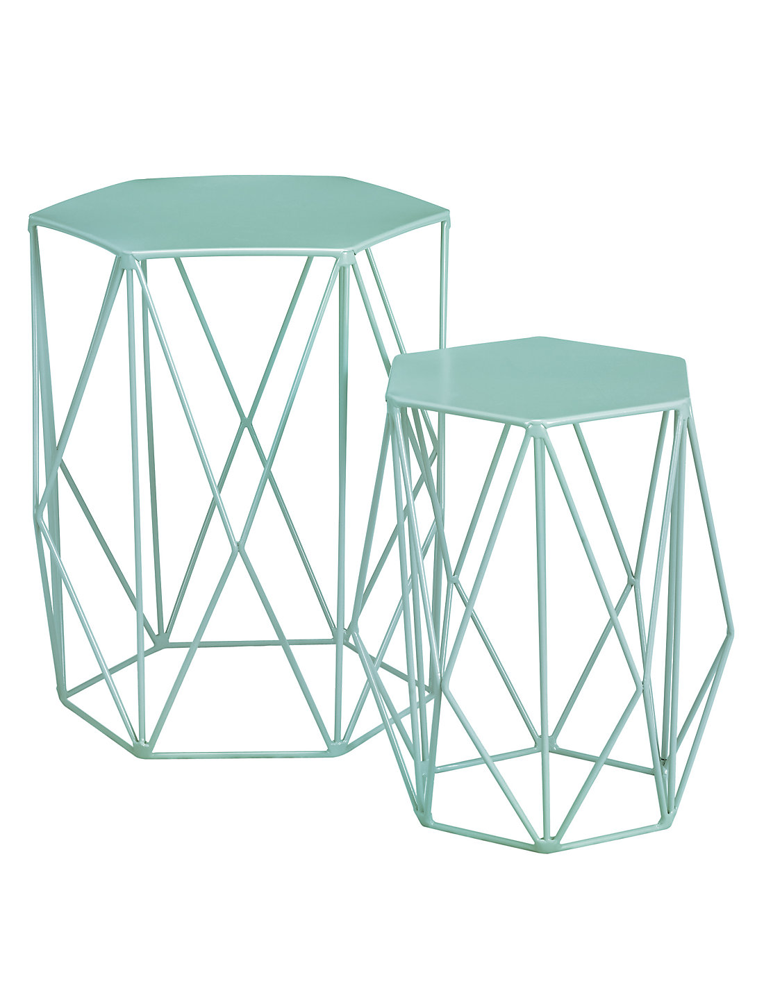 Wire nest of tables mint ms wire nest of tables mint geotapseo Choice Image