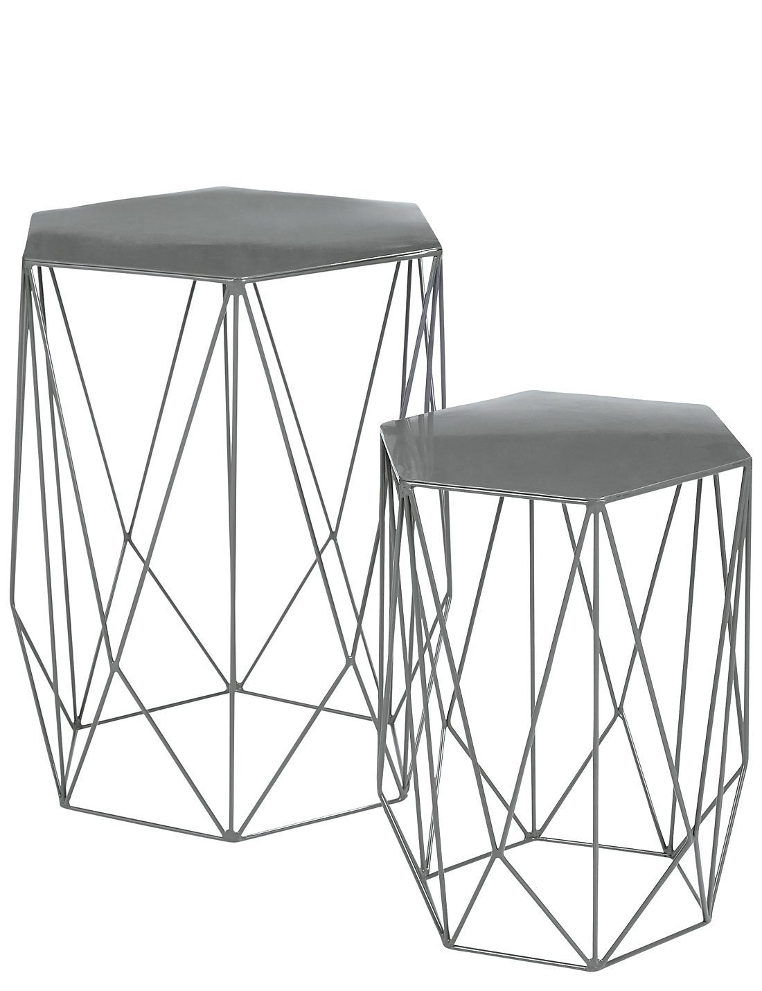 Wire nest of tables grey ms wire nest of tables grey geotapseo Choice Image