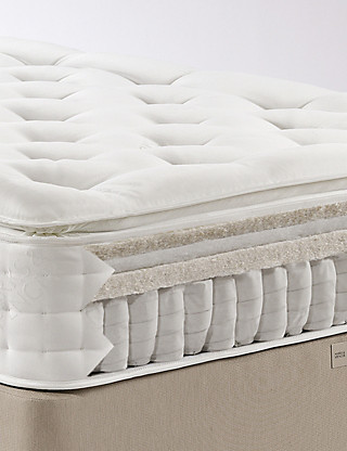 Natural 1500 Pillowtop Mattress - Medium Support - 7 Day Delivery Furniture