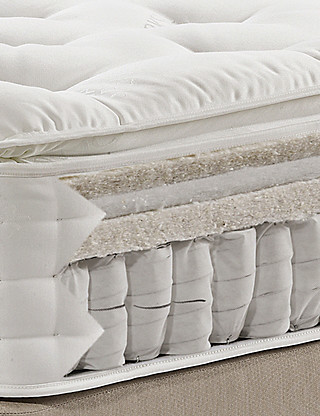 CLEARANCE 50% OFF: Natural 1500 Pillow Top Mattress - Firm Support - 7 Day Delivery* Furniture