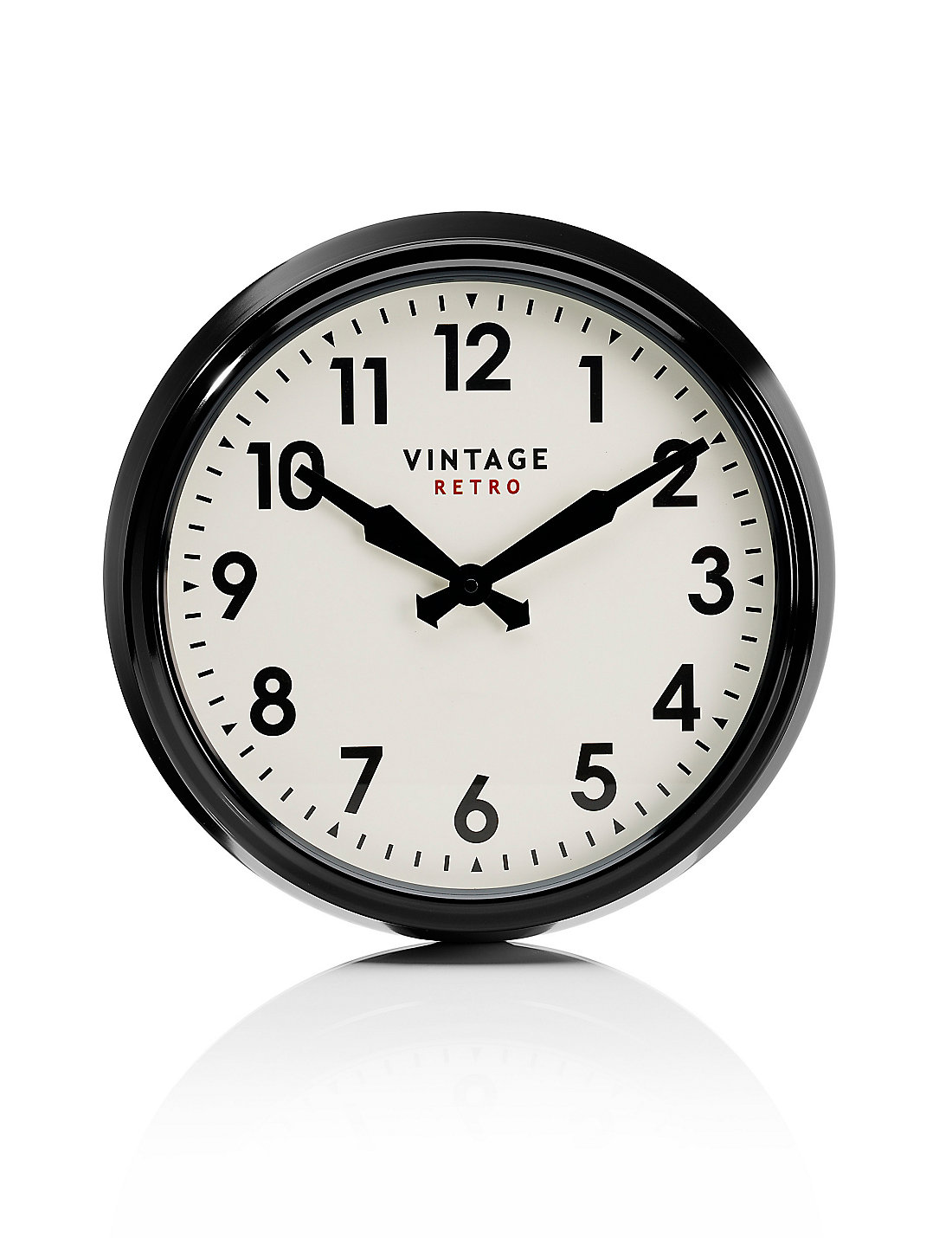 Vintage style station wall clock ms vintage style station wall clock amipublicfo Image collections