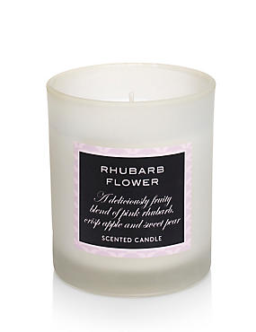 Vela rellena con aroma de ruibarbo, , catlanding